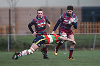 Barking RFC vs Ilford Wanderers RFC, London 3 Essex Division Rugby Union at Gale Street on 9th February 2019