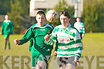 Kingdom Boys Darren O'Brien and Kilmallock's Kevin O'Donnell.