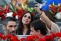 Spanish actress Elena Furiase during Madrid Open Tennis 2018 match. May 11, 2018.(ALTERPHOTOS/Acero) /NORTEPHOTOMEXICO