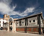 Markthalle, Meze , Etang de Thau, Languedoc, Canal du Midi, Frankreich, France