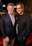 Neal Hamil and designer Bibhu Mohapatra on the red carpet at Fashion Houston at the Wortham Theater Wednesday Nov.13,2013.  (Dave Rossman photo)