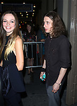 Emily Meade and Rory Culkin leaving the stage door after the opening night performance of 'This Is Our Youth' at the Cort Theatre on September 11, 2014 in New York City.