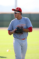 Ismael Guillon - Cincinnati Reds - 2010 Instructional League.Photo by:  Bill Mitchell/Four Seam Images..
