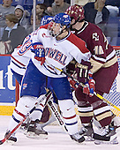Brad King (Bobby Robins, Cory Schneider, Brian Boyle) - The Boston College Eagles defeated the University of Massachusetts-Lowell River Hawks 4-3 in overtime on Saturday, January 28, 2006, at the Paul E. Tsongas Arena in Lowell, Massachusetts.