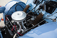 BNPS.co.uk (01202 558833)<br /> Pic: RMSothebys/BNPS<br /> <br /> One engine under the bonnet to power the front wheels.<br /> <br /> Super-rare twin engined 2CV 4x4...Yours for a whopping £90,000...<br /> <br /> It may be the epitome of cheap, basic motoring, but a humble Citroen 2CV car has emerged for sale for a staggering £90,000.<br /> <br /> The French two-door motor is one of only 700 Sahara 4x4 models made by the French marque, making it among the most desirable 2CVs around.<br /> <br /> It is thought less than 100 survive today of which just 30 are in usable, running condition.