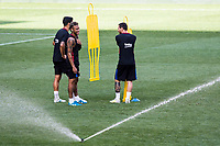 HARRISON, EUA, 21.07.2017 - BARCELONA-JUVENTUS -  (E/D) Neymar Jr., Luis Suarez e Lionel Messi jogadores do Barcelona durante treino um dia antes da partida contra a Juventus pela International Champions Cup na Red Bull Arena na cidade de Harrison nos Estados Unidos nesta sexta-feira, 21.(Foto: William Volcov/Brazil Photo Press)