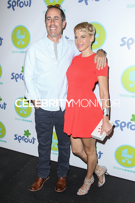 NEW YORK CITY, NY, USA - JUNE 04: Jerry Seinfield, Jessica Seinfield at the 2014 Baby Buggy Bedtime Bash Hosted By Jessica And Jerry Seinfeld - Sponsored By Sprout on June 4, 2014 in New York City, New York, United States. (Photo by Jeffery Duran/Celebrity Monitor)