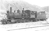 3/4 fireman's-side view of D&amp;RGW #315 parked in Salida.<br /> D&amp;RGW  Salida, CO