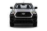 Car photography straight front view of a 2018 Toyota Tacoma SR Access Cab 4x2 4-Cyl Auto Long Bed 4 Door Pick Up