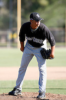 Leuris Gomez - Colorado Rockies, 2009 Instructional League.Photo by:  Bill Mitchell/Four Seam Images..