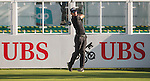 Rafael Cabrera Bello of Spain tees off the first hole during the 58th UBS Hong Kong Open as part of the European Tour on 08 December 2016, at the Hong Kong Golf Club, Fanling, Hong Kong, China. Photo by Marcio Rodrigo Machado / Power Sport Images