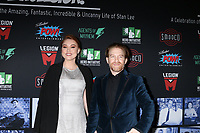 LOS ANGELES - JAN 30:  Clare Grant, Seth Green at the Excelsior! A Celebration of Stan Lee at the TCL Chinese Theater IMAX on January 30, 2019 in Los Angeles, CA