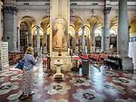 Nave, Parrocchia Santa Maria in Porto, Roman Catholic Church, Ravenna, Italy