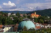 Deutschland, Baden-Württemberg, Blick vom Neuen Schloss in Baden-Baden