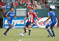 CARSON, CA – SEPTEMBER 19: Chivas USA forward Alan Gordon (16) during a soccer match at Home Depot Center, September 19, 2010 in Carson California. Final score Chivas USA 0, Kansas City Wizards 2.