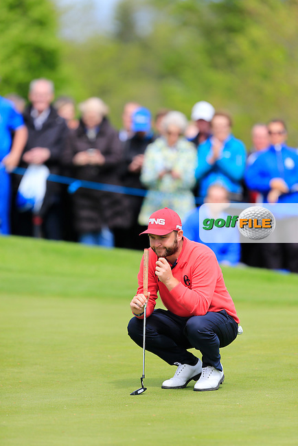 Andy Sullivan (ENG) on the 6th during round 1 of the Dubai Duty Free Irish Open, The K Club, Straffan, Co. Kildare<br /> Picture: Golffile | Fran Caffrey<br /> <br /> <br /> All photo usage must carry mandatory copyright credit (&copy; Golffile | Fran Caffrey)