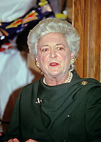 Former first lady Barbara Bush 1925 - 2018