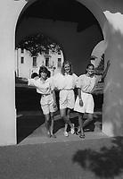 1987: Charli Turner, Kami Anderson, Leslie Cradell.