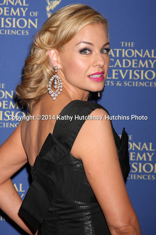 LOS ANGELES - JUN 20:  Jessica Collins at the 2014 Creative Daytime Emmy Awards at the The Westin Bonaventure on June 20, 2014 in Los Angeles, CA