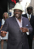 June 18 , 2012 Cedric the Entertainer at  Good Morning America in New York City. © RW/MediaPunch Inc. NORTEPHOTO.COM<br />