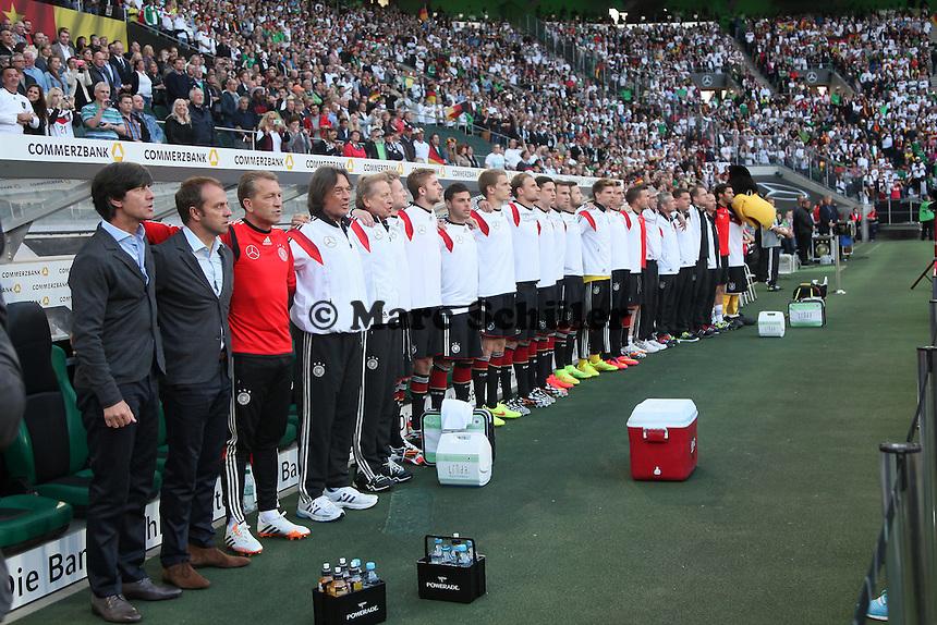 Deutsche Bank - Deutschland vs. Kamerun, Mönchengladbach