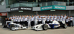 03 Apr 2009, Kuala Lumpur, Malaysia ---   BMW Sauber F1 Team pose for a photo during the 2009 Fia Formula One Malasyan Grand Prix at the Sepang circuit near Kuala Lumpur. Photo by Victor Fraile --- Image by © Victor Fraile / The Power of Sport Images