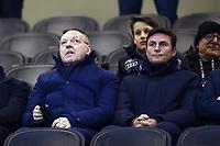 Giuseppe Maretta-Javier Zanetti<br /> Milano 13-1-2019 Stadio Giuseppe Meazza <br /> Football Italy Cup 2018/2019 Inter - Benevento <br /> Foto Image Sport  / Insidefoto