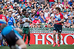 Russia vs Zimbabwe during the HSBC Sevens Wold Series Qualifier Final match as part of the Cathay Pacific / HSBC Hong Kong Sevens at the Hong Kong Stadium on 29 March 2015 in Hong Kong, China. Photo by Xaume Olleros / Power Sport Images