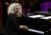 Singer-songwriter Carole King performs after being awarded the 2013 Library of Congress Gershwin Prize for Popular Song by U.S. President Barack Obama (not pictured) at the White House in Washington, DC on May 22, 2013..Credit: Yuri Gripas / Pool via CNP