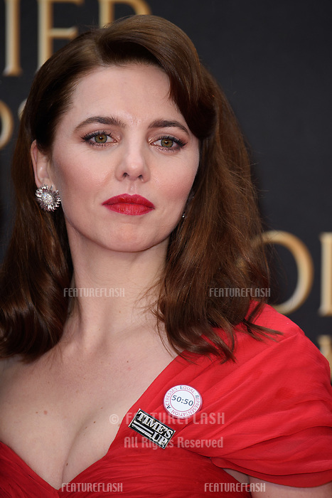 Ophelia Lovibond arriving for the Olivier Awards 2018 at the Royal Albert Hall, London, UK. <br /> 08 April  2018<br /> Picture: Steve Vas/Featureflash/SilverHub 0208 004 5359 sales@silverhubmedia.com