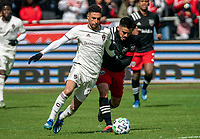 WASHINGTON, DC - FEBRUARY 29:  during a game between Colorado Rapids and D.C. United at Audi Field on February 29, 2020 in Washington, DC.