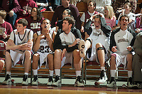 Lafayette mens basketball playing against Bucknell in Kirby Sports Center on wed night February 16, 2011. Various feature shots of crowd, games action cheerleaders dance team, pep band and leopard.
