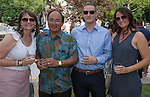 Katie Lay, Mike Gasuad, Eric Edelstein and Joy Heuer during the 48th Annual Nevada Athletics Governor's Dinner at the Governor's Mansion  in Carson City on  Friday, July 8, 2016.
