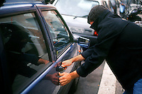 Furti di automobili. Thefts of cars.....