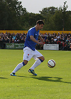 Anestis Areyriou in the Forres Mechanics v Rangers William Hill Scottish Cup 2nd Round match, at Mosset Park, Forres on 29.9.12.