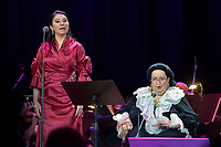 Montserrat Marti, Montserrat Caballe<br /> Perfomance at State Kremlin palace, Moscow, Russia on June 06,  2018.<br /> **Not for sale in Russia or FSU**<br /> CAP/PER/EN<br /> &copy;EN/PER/Capital Pictures