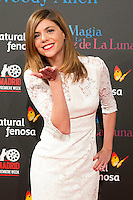 "Manuela Velasco attend the Premiere of the movie ""Magic in the Moonlight"" at callao Cinema in Madrid, Spain. December 2, 2014. (ALTERPHOTOS/Carlos Dafonte) /NortePhoto.com"