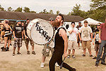 August 17, 2013. Richmond, Virginia.<br />  Wilson.<br />  Continuing the tradition of their annual metal festival, GWAR headlined the GWAR BQ at Hadad's Lake, with guest bands such as X Cops, Cannabis Corpse, Pig Destroyer, Municipal Waste and several others.