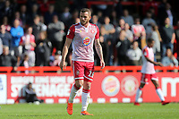 Arthur Iontton of Stevenage during Stevenage vs Exeter City, Sky Bet EFL League 2 Football at the Lamex Stadium on 10th August 2019
