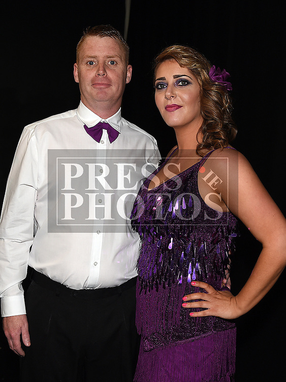 Ian Kavanagh and Carol Walsh who took part in the Moneymore strictly come dancing event in The Barbican Centre. Photo:Colin Bell/pressphotos.ie