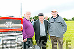 Enjoying the Abbeydorney Vintage rally on Sunday were l-r  Gabe O'Connor, Larry Lyons and Jerry Hayes from Asdee