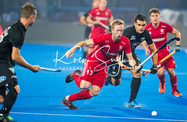 BHUBANESWAR - Barry Middleton (Eng)   .England-New Zealand (2-0)   during Wold Cup Hockey men. COPYRIGHT KOEN SUYK