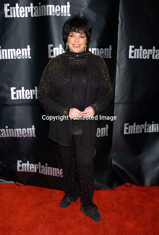 Liza Minnelli ..at the Entertainment Weekly 10th annual Oscar Party on ..February 29, 2004 at Elaine's in New YOrk City. Photo by Robin Platzer, Twin Images