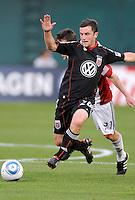 DC United midfielder Stephen King (20)   DC United defeated Chivas USA 3-2 at RFK Stadium, Saturday  May 29, 2010.