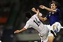 (R-L)  Mike Havenaar (JPN), Pak Nam-Chol (PRK), SEPTEMBER 2, 2011 - Football / Soccer : 2014 FIFA World Cup Asian Qualifiers Third round Group C match between Japan 1-0 North Korea at Saitama Stadium 2002 in Saitama, Japan. (Photo by AFLO)