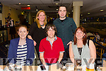 Staff of Donseed LTD, Monavalley Industrial Estate enjoying a night out at the greyhound track on Friday night .Front l-r Siobhan Griffin,Stephen Falvey,Debbie Young,Sinead Sheehan and Conor Brassil.