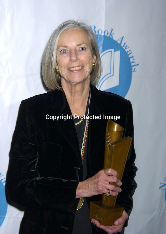 Lily Tuck ..at the National Book Awards on November 17, 2004 at The Marriott Marquis. Photo by Robin Platzer, Twin Images