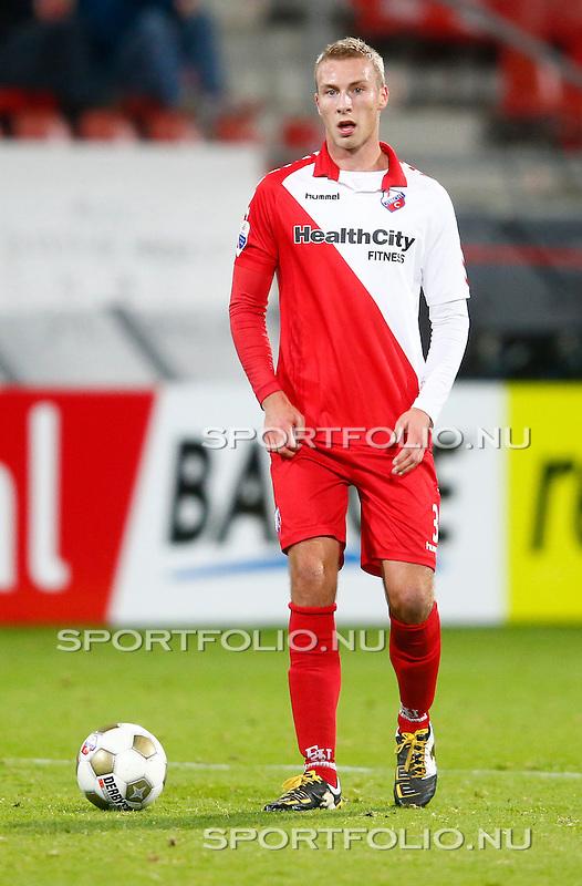 Nederland, Utrecht, 26 oktober 2012.Eredivisie.Seizoen 2012-2013.FC Utrecht-FC Groningen (1-0).Mike van der Hoorn van FC Utrecht