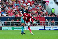 Mike van der Hoorn of Swansea City in action during the Sky Bet Championship match between Bristol City and Swansea City at Ashton Gate in Bristol, England, UK. Saturday 21 September 2019