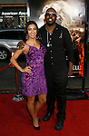 "HOLLYWOOD, CA. - May 12: Liana Mendoza and Sleepy Brown arrive at the premiere of Universal Pictures' ""Drag Me To Hell"" at Grauman's Chinese Theatre on May 12, 2009 in Hollywood, California."